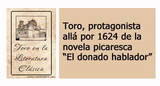 """""""Toro en la novela picaresca El donado hablador"""""""
