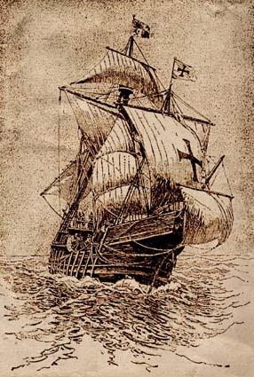 """""""Carabela del descubrimiento de América"""""""