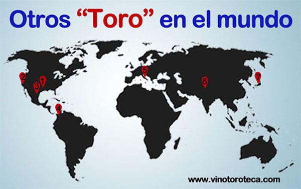 """""""Lugares llamados Toro en el mundo. Turismo. Viajar. Zamora"""""""