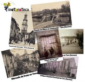 """COLLAGE DE FOTOGRAFÍAS ANTIGUAS DE TORO (ZAMORA)"""