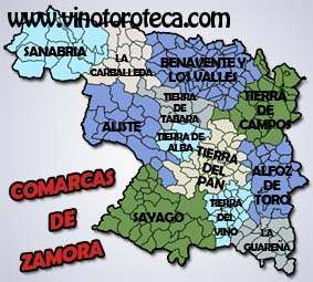 """COMARCAS DE LA PROVINCIA DE ZAMORA"""