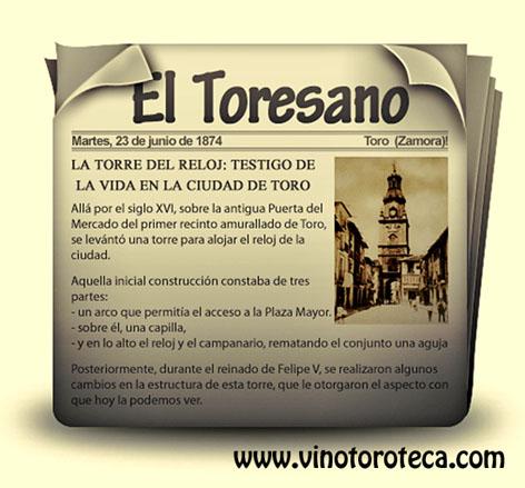 """""""EL TORESANO, ANTIGUO PERIÓDICO DE TORO"""""""