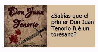 """""""Primer actor Don Juan Tenorio era Carlos Latorre nacido en Toro"""""""