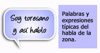 """""""Palabras y expresiones típicas de la zona de Toro"""""""