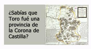 """""""Toro provincia de la corona de Castilla"""""""