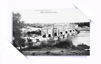 """""""Fotografias antiguas. Las aceñas del vado en Toro. Zamora. Castilla y Leon"""""""